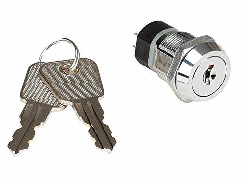 VELLEMAN - KS3 Schlüsselschalter 2 polig Ein/Aus 250VAC/2A Schalter 615010
