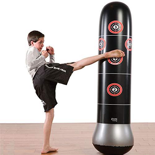 ZYX Boxen Sandsäcke-1.5M, Neue Aufblasbare Anti-Stress-Rig Boxsack Auf Wasserbasis Ausbildung Druckentlastungsband Pumpe Sandsäcke-Für Heimfitness