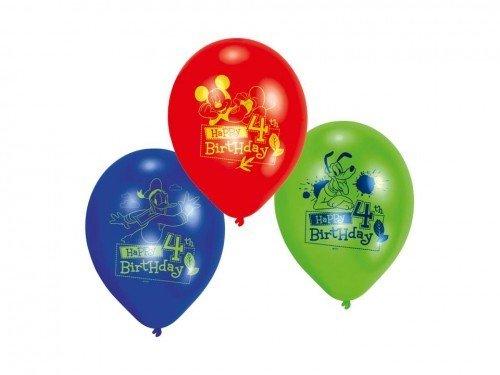 Ballon en latex Mickey Mouse 22cm
