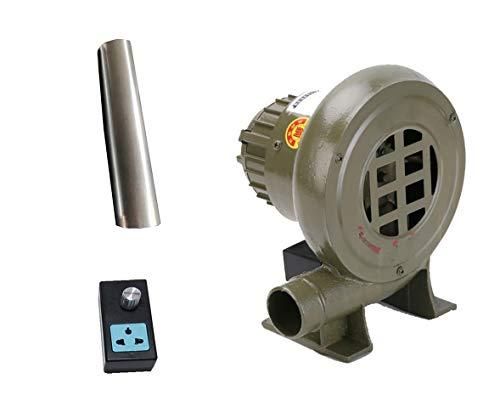 Ventilador De Barbacoa, Ventilador De Parrilla Eléctrico De 220 V Con Conducto...