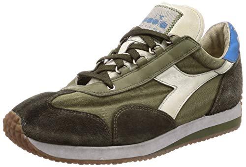 Diadora Sneaker Heritage Uomo Equipe H Dirty Stone Wash Evo 201 174736 01 70431 Colore Olive Green ss19 43
