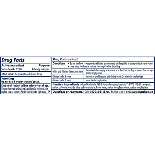 Pepsodent Complete Care Toothpaste Original Flavor 5.5 oz (Pack of 3)