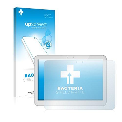 upscreen Antibakterielle Entspiegelungs-Schutzfolie kompatibel mit Archos 101 Helium - Anti-Reflex Bildschirmschutzfolie matt, Anti-Fingerprint