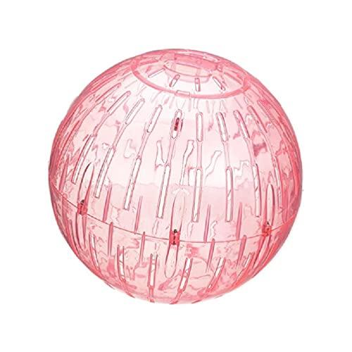 xllLU Silencioso hámster bolas de ejercicio silencioso spinner hámsters ruedas de plástico para gerbilos, ratones u otros animales pequeños rueda de hilanderos de hámster de 7.4 pulgadas silenciosa