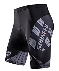 top 10 cannondale bike shorts Men's Padded Cycling Shorts RaceFit Padded Cycling Shorts NonBaggy Racing Fit USA…