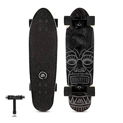 Magneto Mini Cruiser Longboard   Complete Skateboard Cruiser Board   Short Board   Canadian Maple...