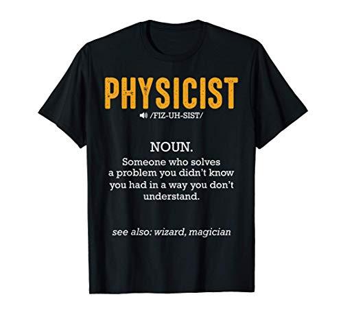 Definición Física Estudio Ciencia Dichos graciosos Citas Camiseta