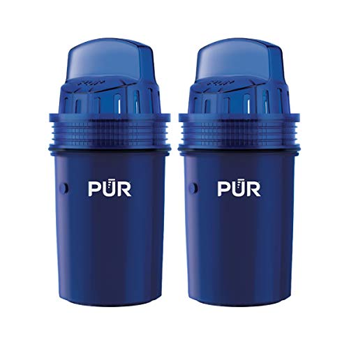 PUR Water Pitcher Replacement Filter, 2 Pack (Faster Pour)