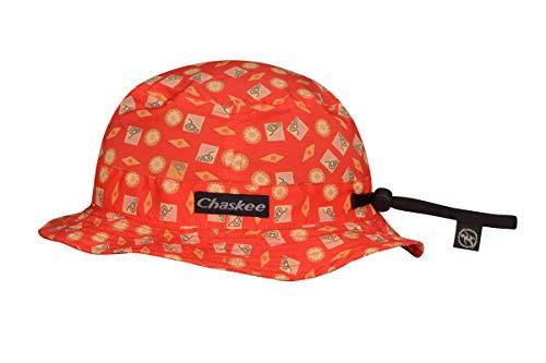Chaskee Kinder Bob Cap, Shapes orange, ONE Size