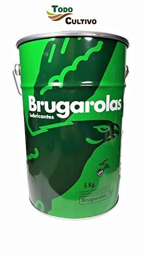 Brugarolas Grasa Litio Águila n850 EP-f 00. 5 Kilos. Excelente y Duradera para engrase y lubricación en General.