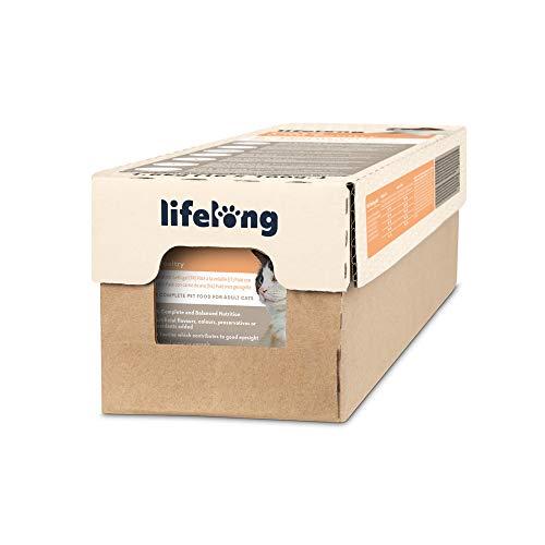 Amazon-Marke: Lifelong Cat Food - Pastete mit Geflügel, 16-er Pack x 100g