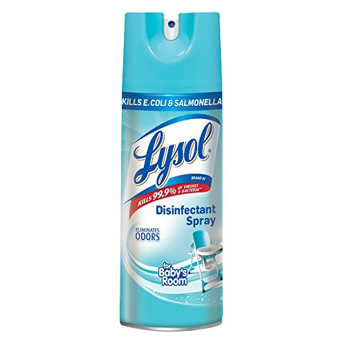Lysol Disinfectant Spray, For Baby's Room, 19oz