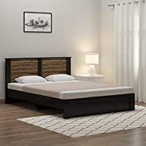 Spacewood Joy Queen Size Engineered Wood Bed  Particle B...