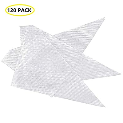 Pastry Piping Bags Disposable 120pcs/set 12 Inch Cake Decorating Bags Thickened Icing Piping Bag Frosting Cream Baking Pastry Bag Cookies Cupcake Candy Disposable Piping Bags for all Size Tools