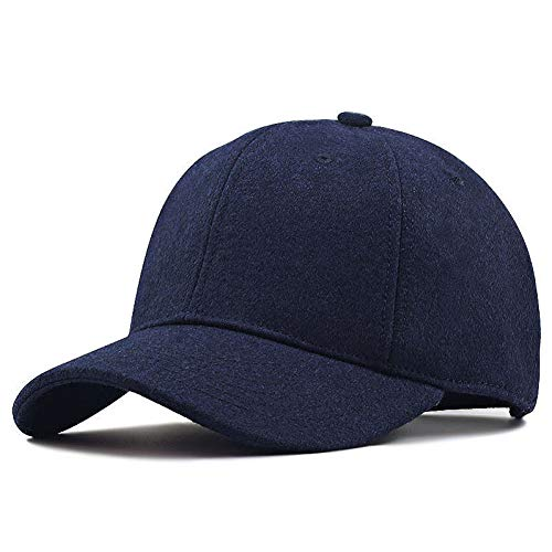 FORBQM Gorra béisbol Winter Dad Warm Felt Hats Big