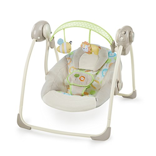 Ingenuity, tragbare Babyschaukel, Sunny Snuggles