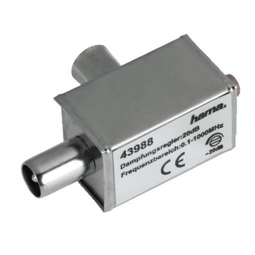 Hama Breitband-Kabel-Dämpfungsregler