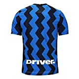 Nike Herren Inter M Vapor MTCH JSY SS HM T-Shirt, Blue Spark/(White) (Full Sponsor), 2XL