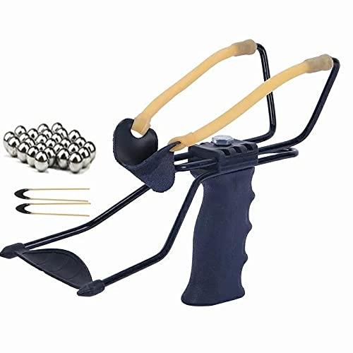 liuyi Slingshot Adult Outdoor Precision Metal Steel Slingshot Professional Hunting Slingshot...