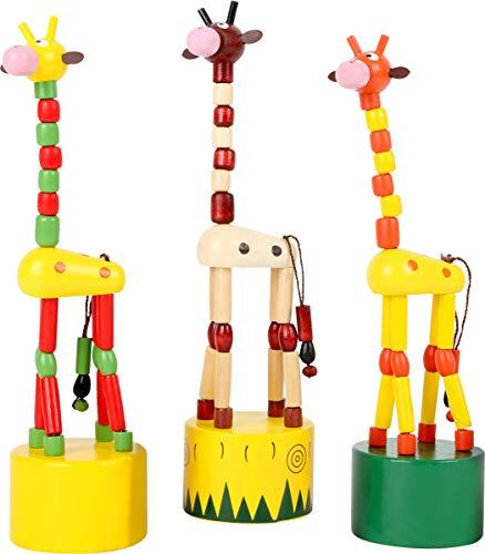 Small Foot 7996 – drück Animaux Girafe