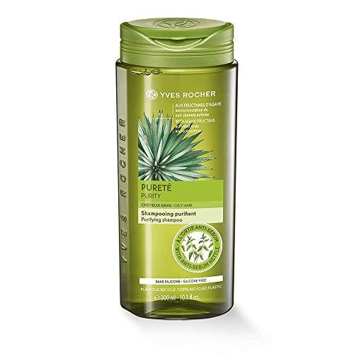 Shampoo Yves Rocher Purificante all'ortica e agave, riattiva la circolazione del cuoio capelluto, ingredienti naturali