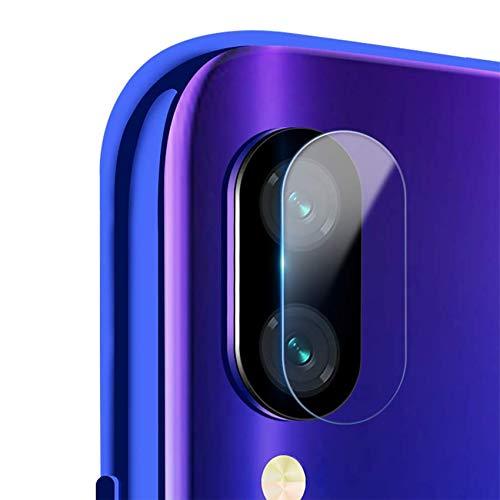 EasyULT [2 Pack Protector Lente cámara para Xiaomi Redmi Note 7,Cristal Vidrio Templado Ultra Fino Cubierta de Lente de la cámara para Redmi Note 7