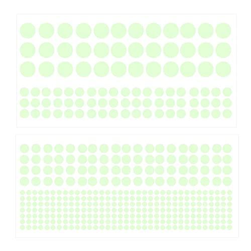 ODSHY Point d'étoile Lumineuse Star Fluorescent Accueil Décoration Murale Amovible Sticker pour Enfants Salle de décoration Papier Peint...