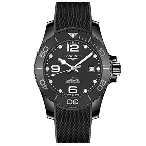 Longines orologio uomo HydroConquest 43mm automatico ceramica nera L3.784.4.56.9