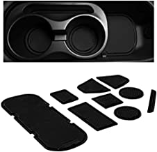 CupHolderHero for Subaru BRZ, Toyota 86, and Scion FR-S 2012-2020 Custom Liner Accessories – Premium Cup Holder and Center Console Inserts 9-pc Set (Solid Black)