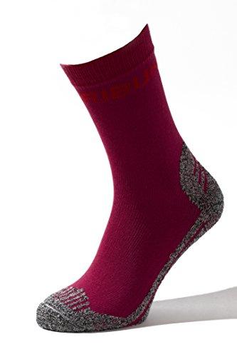 Miribung Chaussettes de randonnée confortables, idéales pour randonnée et randonnée avec matériaux souples et doux, légères, souples, confortables - Qualité Alpina - Fabriquées en Haute Adige - 416-P-42-43