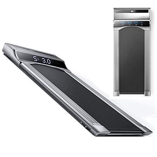 GXLO Ultra silencioso Pantalla LCD Cinta de Correr motorizada Cinta Delgada Velocidad Ajustable rodante Caminar para el hogar y la Oficina para la Cubierta del Entrenamiento Aptitud de la Gimnasia