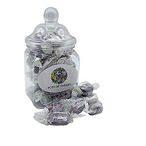 200 gram jar liquorice and blackcurrant sweets 200 Gram Jar Liquorice and Blackcurrant Sweets 41XEYQ6KjFL
