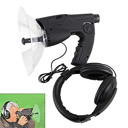 GYFHMY Amplificateur de Son extrême écoute de 300Ft, observateur d'enregistrement d'oiseaux d'oreille bionique, télescope monoculaire 8X, Casque pour Scientifique, Nature, Explorateur