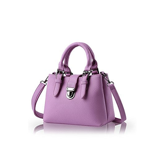 Nicole&Doris 2016 nuova ondata di sacchetti di piazza sacchetto di spalla del messaggero delle signore / borse delle donne(Purple)