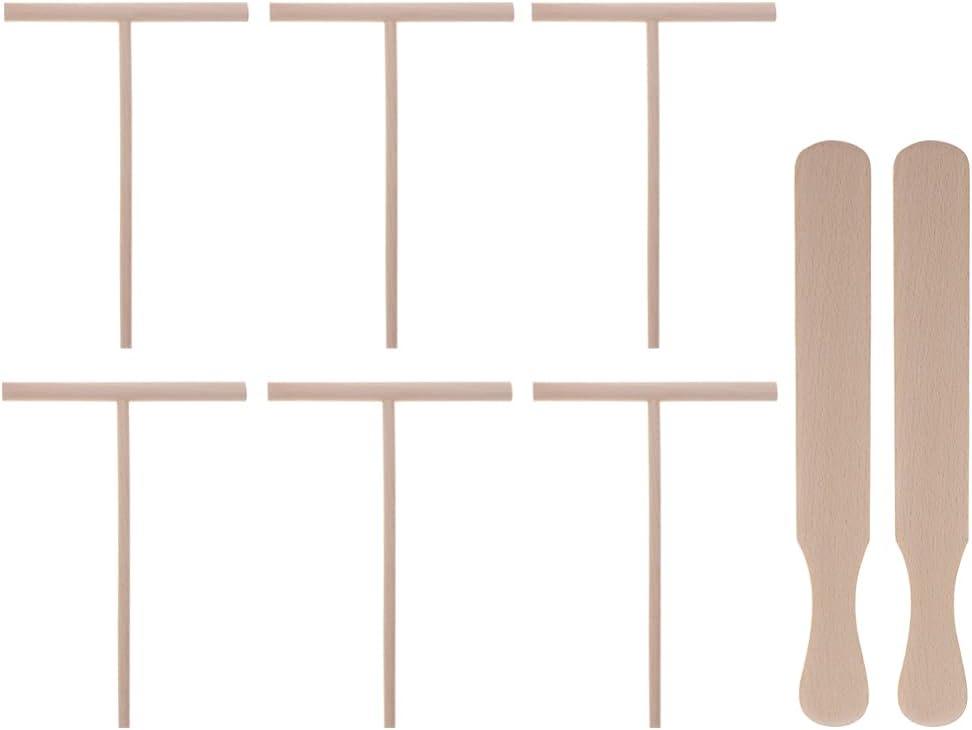 1 Set Special price Crepe Spreader and Ranking TOP8 Spatula Maker Wood Pan Kit Pancak
