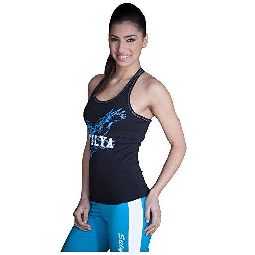 STILYA Sportswear Company Mujer Camiseta de Culturismo Tanque Camisa del músculo 5701 S