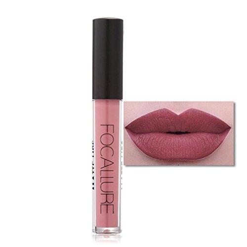 Yogogo Neue Art und Weise Lippenstift Kosmetik Frauen sexy Lippen Metallic Lip Gloss