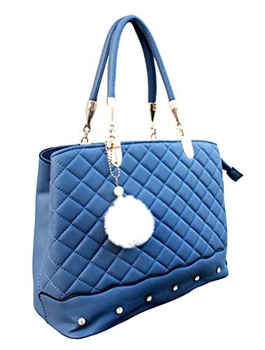 khalifa Women's Canvas Handbag (Blue)