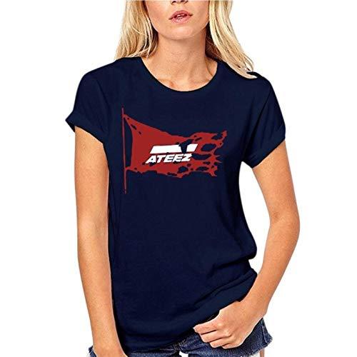 Burzum 2021 Casual Fashion T-Shirt 100% Cotton Men Short Sleeve ATEEZ Unisex Women