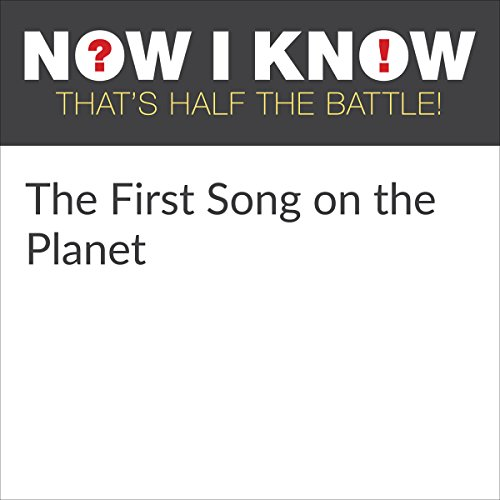 The First Song on the Planet audiobook cover art