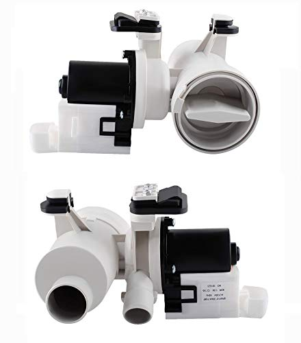 Podoy W10130913 Washer Drain Pump for Compatible with Whirlpool W10730972 8540024 W10130913 W10117829 AP4308966 PS1960402 Motor Assembly Replacement WPW10730972