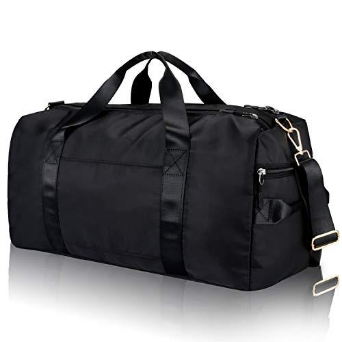 voyage Fitbeast Sports Sac De Gym Duffel Bag avec Chaussures Compartiment /& Wet poche