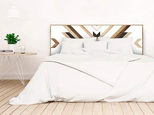 setecientosgramos Cabecero Cama PVC | WoodGuy | Varias Medidas | Fácil colocación | Decoración Dormitorio (200x60)