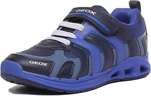 Geox Jungen Laufschuhe J Dakin Boy Marineblau Königsblau 29 EU