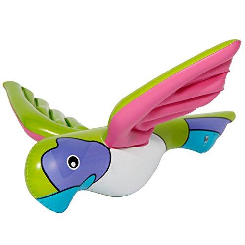 Folat 20570 Aufblasbarer Papagei Pink
