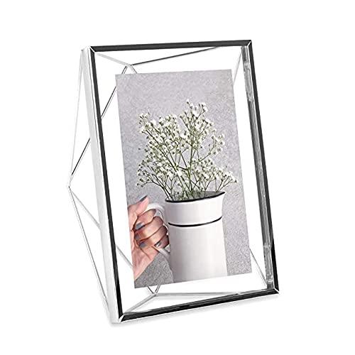 Umbra Prisma Marco para fotos, 13x18 cm, Acero, Cromo