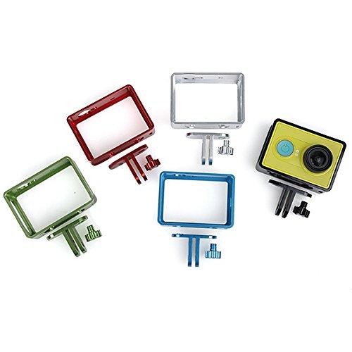 GOZAR Beschermende Frame Case Aluminium Border voor Xiaomi Yi Action Camera