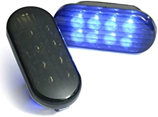 Smoked Aqua Blue Led Side Marker Lights Pair For 1999-2004 Golf Jetta Bora 98 99 00 01 02 03 04 Passat B5 B5.5