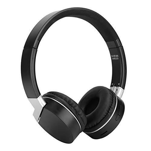 Drahtloser Stereo Kopfhörer mit Bluetooth Headset, Rauschunterdrückung über Kopfhörer, Lautstärkeregelung, weiche Memory Protein Ohrenschützer für iPhone / iPad / PC / TV