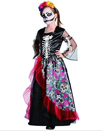 PARTY FIESTA Disfraz Catrina (5-6)
